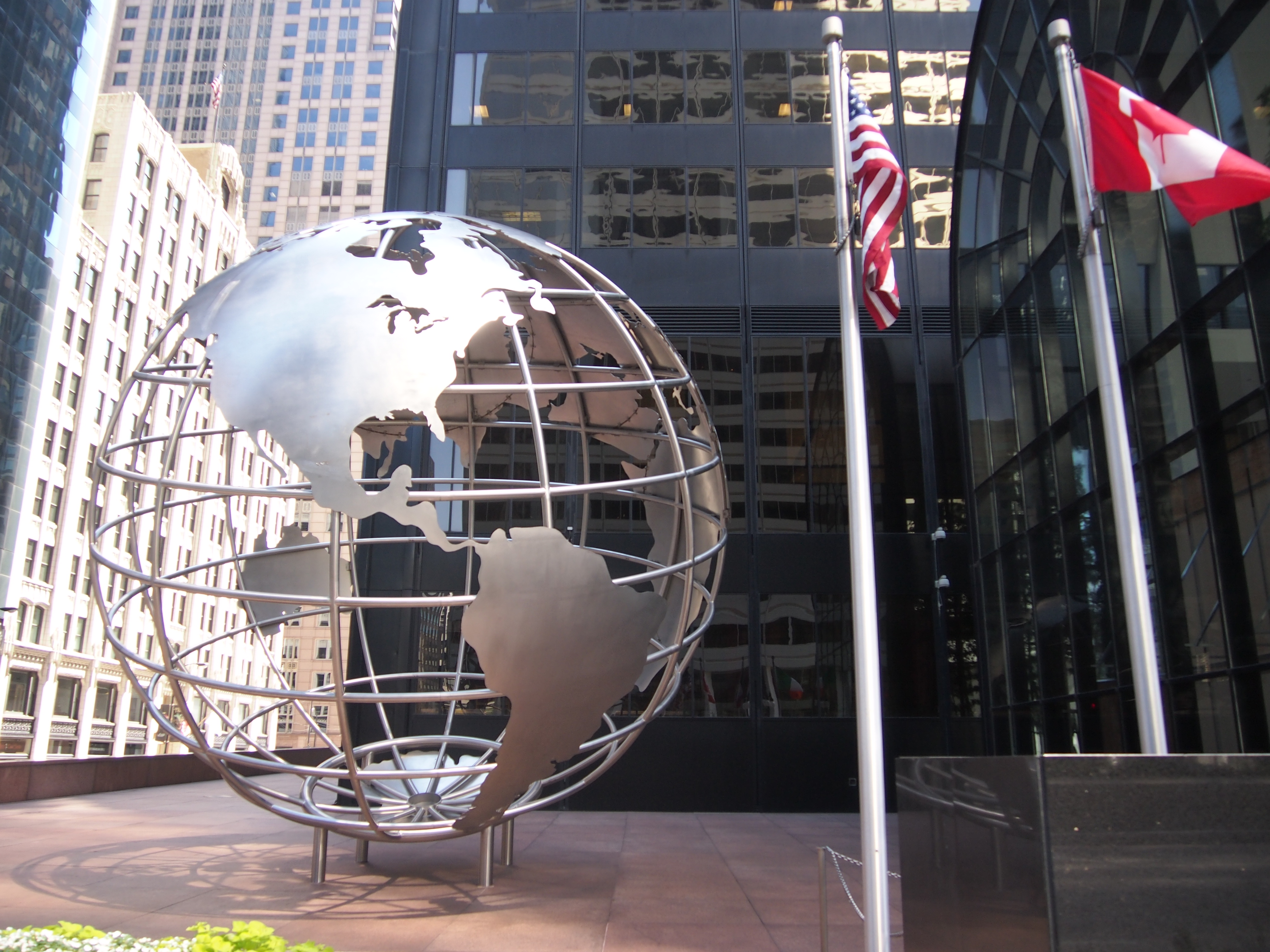 The Steel Globe Been There Seen That