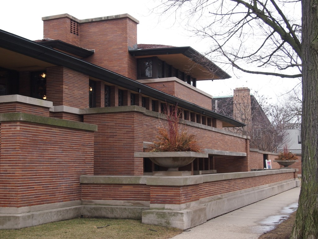 The frederick c robie house been there seen that for Fredrick house