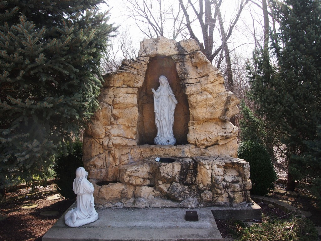 St Matthew Grotto, April 17, 2014