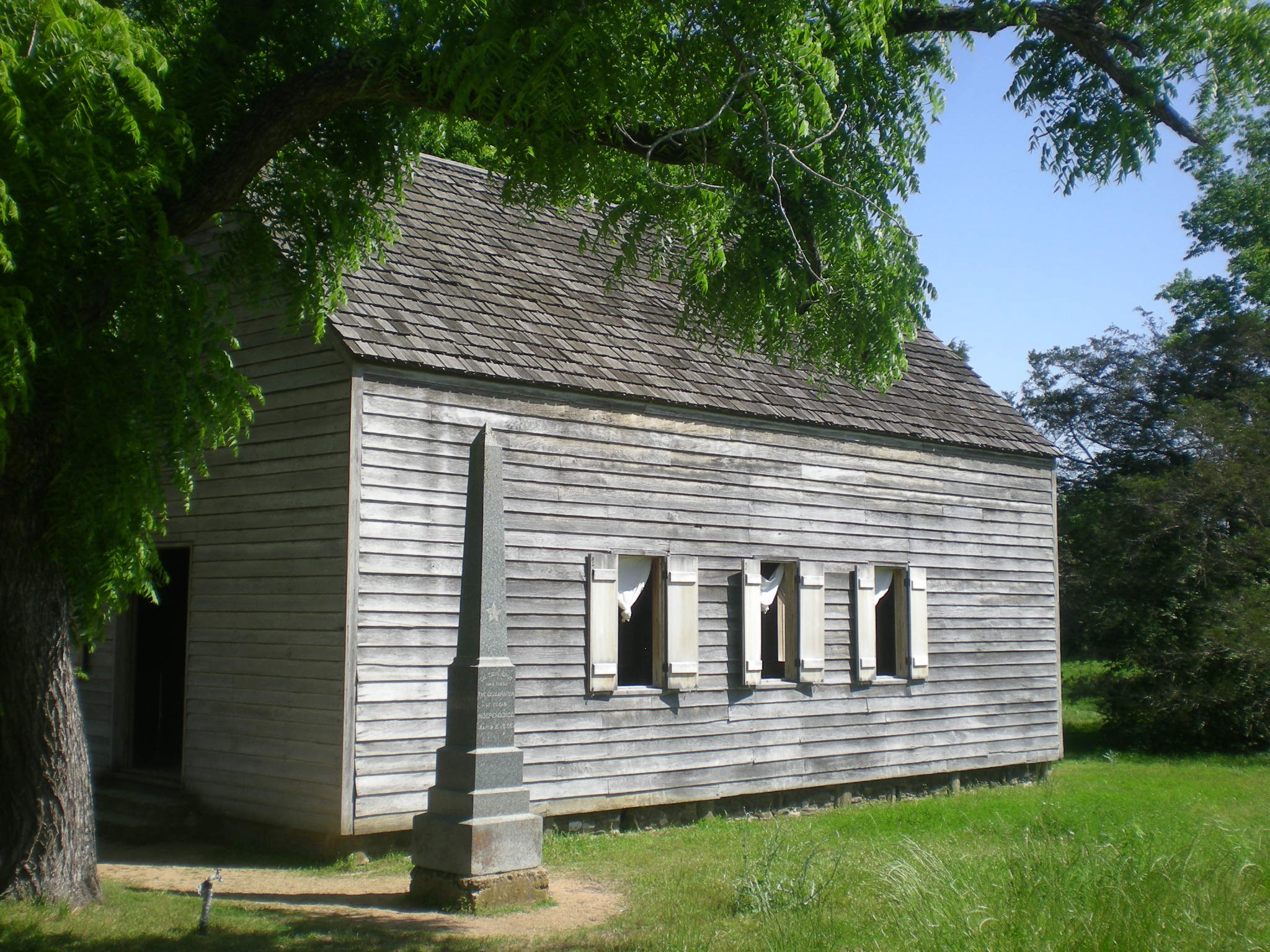 Independence Hall, Texas 2014