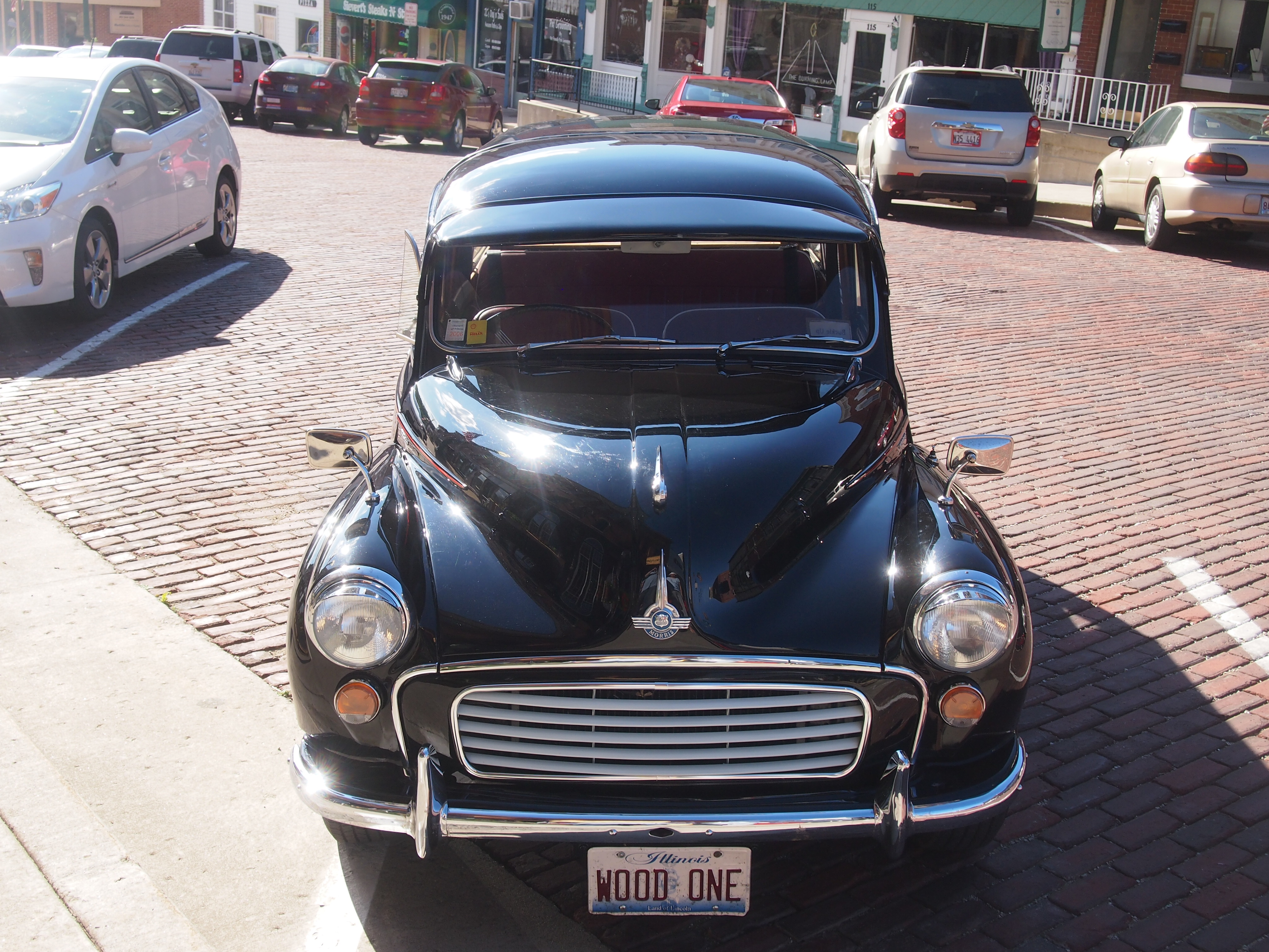 Morris Minor 1000 Traveller, Mount Carroll, Illinois, June 2014