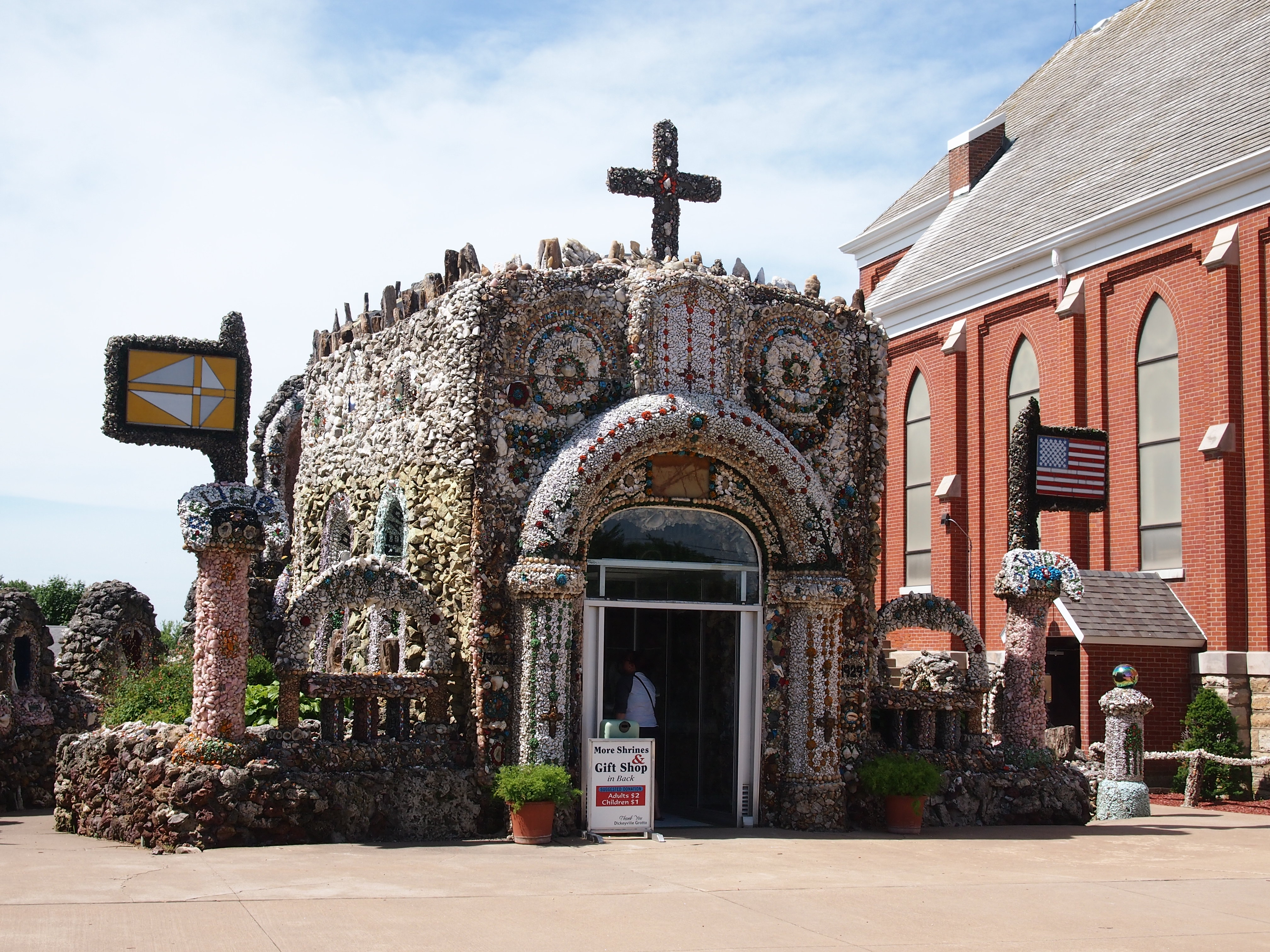 Dickeyville Grotto, June 2014