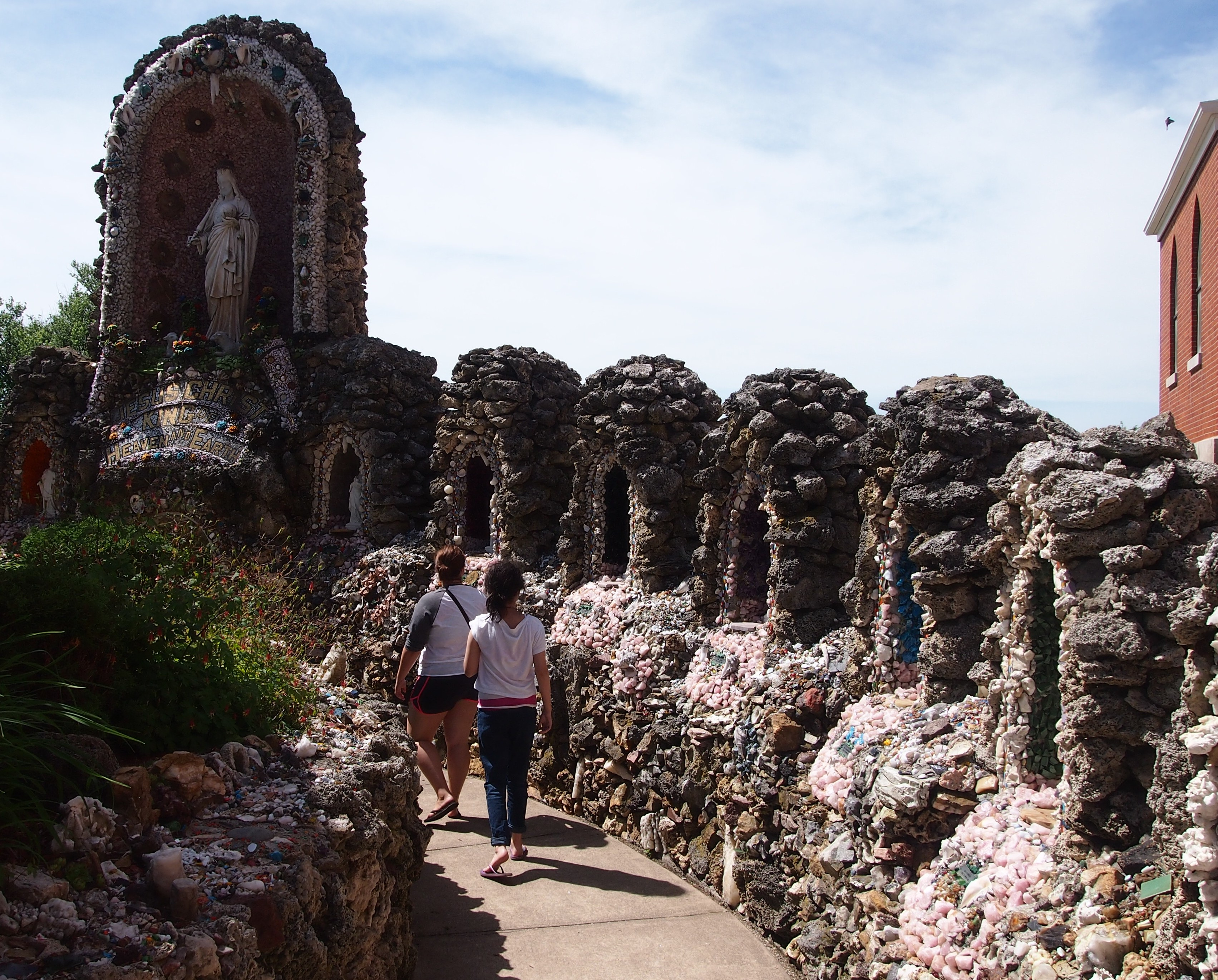 Dickeyville Grotto, June 22, 2014