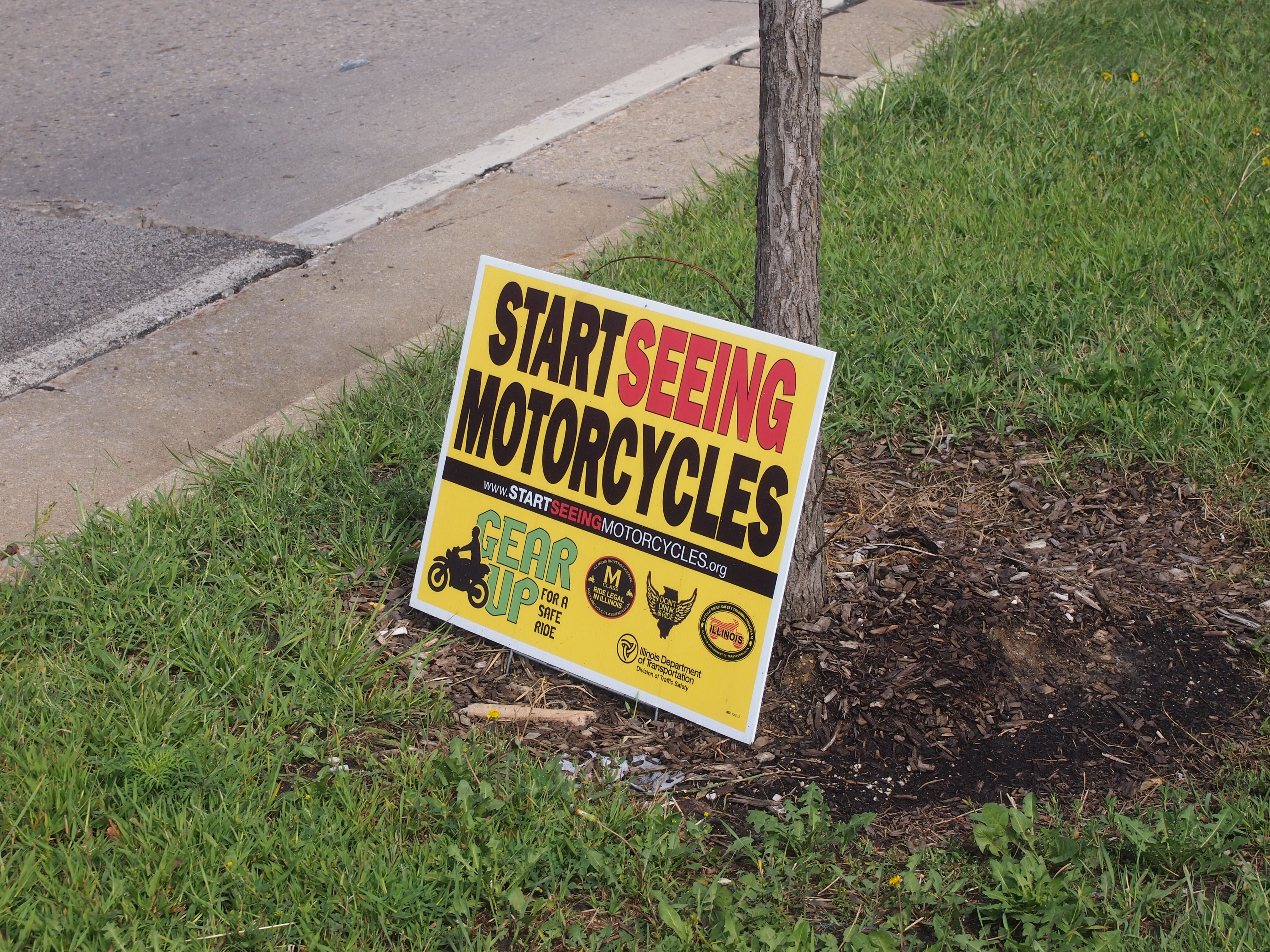 Start Seeing Motorcycles