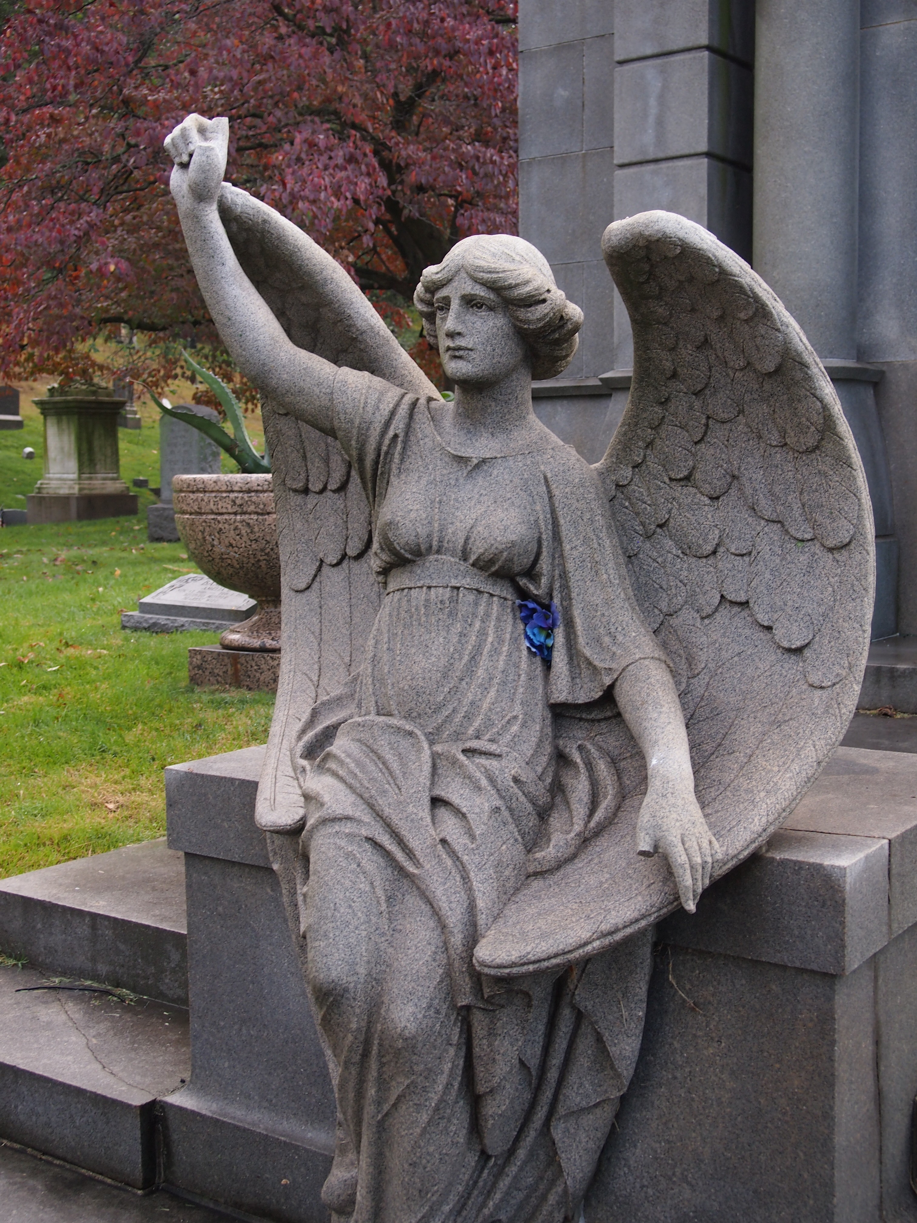 Green-Wood Cemetery, Oct 14, 2014