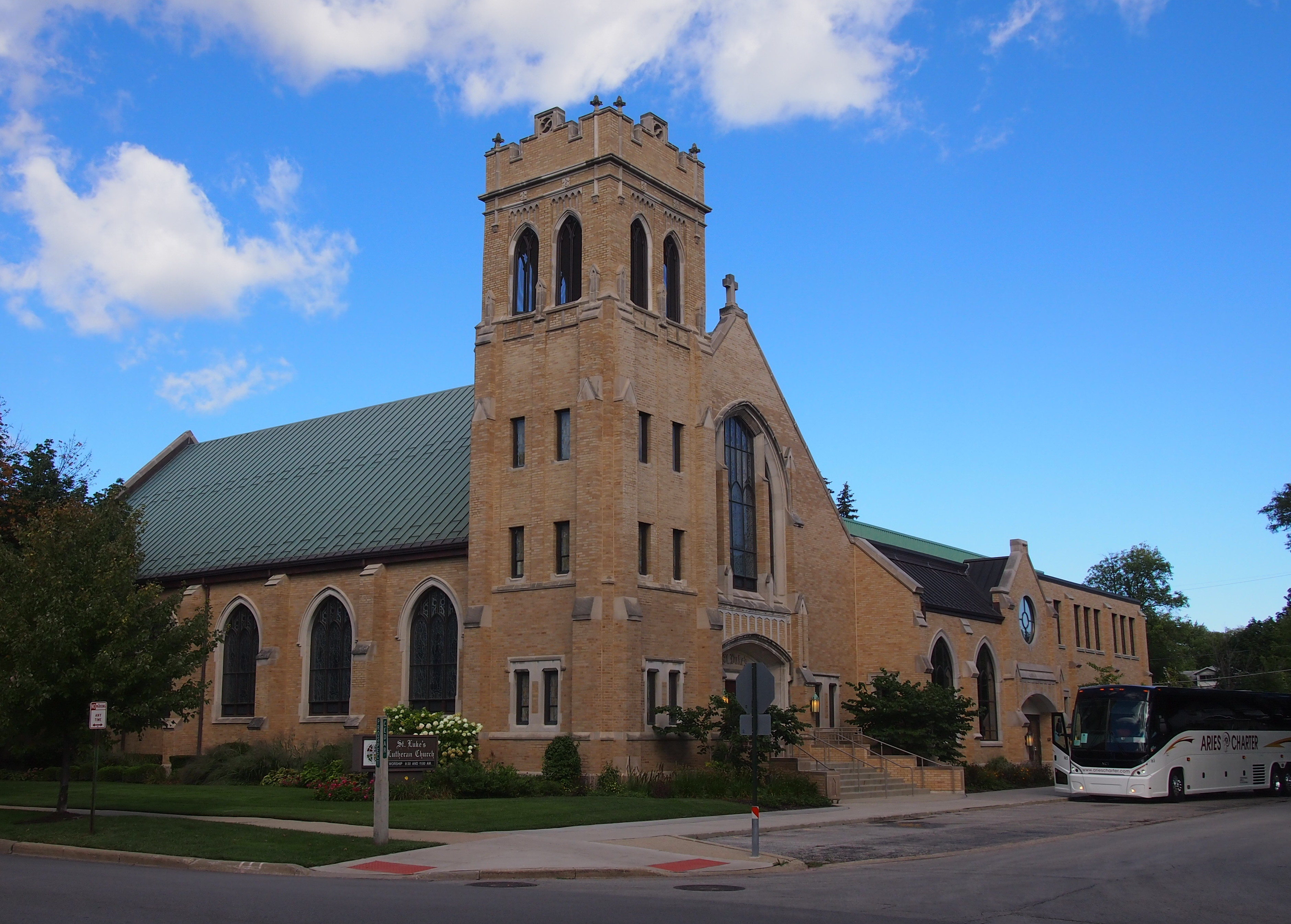 St luke s lutheran church park ridge been there seen that for Park ridge building department