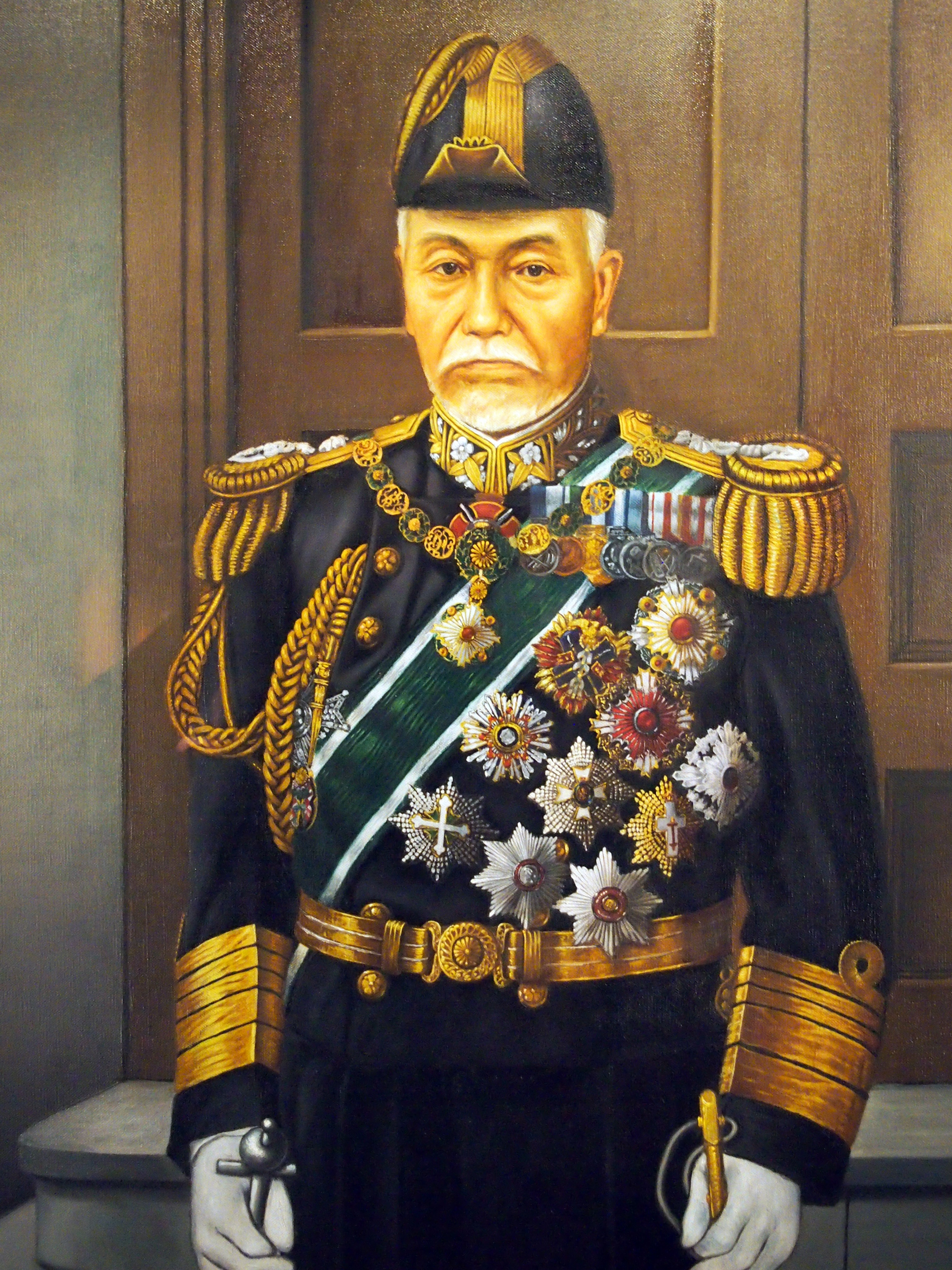 Marshal-Admiral Marquis Tōgō Heihachirō painting National Museum of the Pacific War