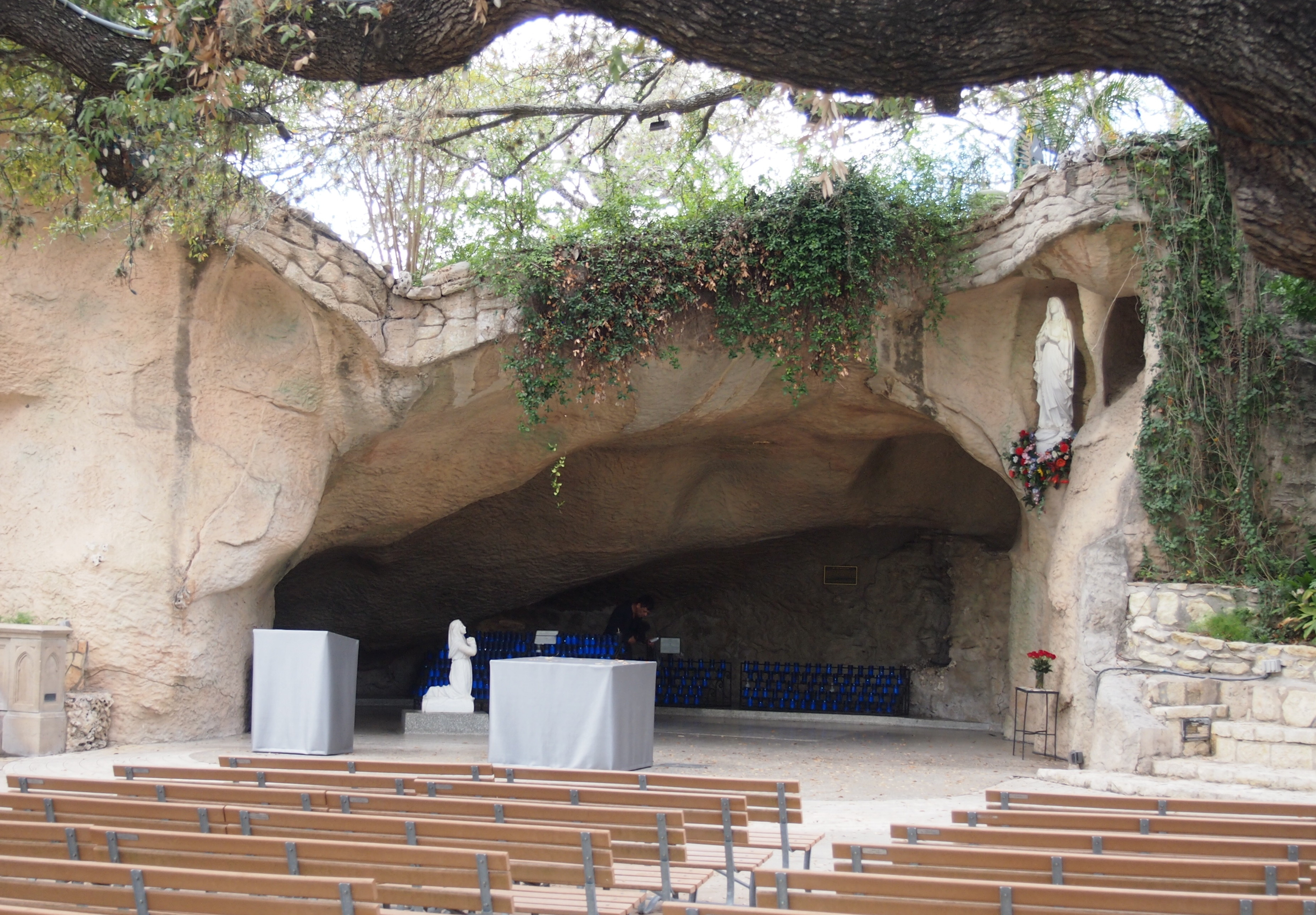 Oblate School of Theology Grotto