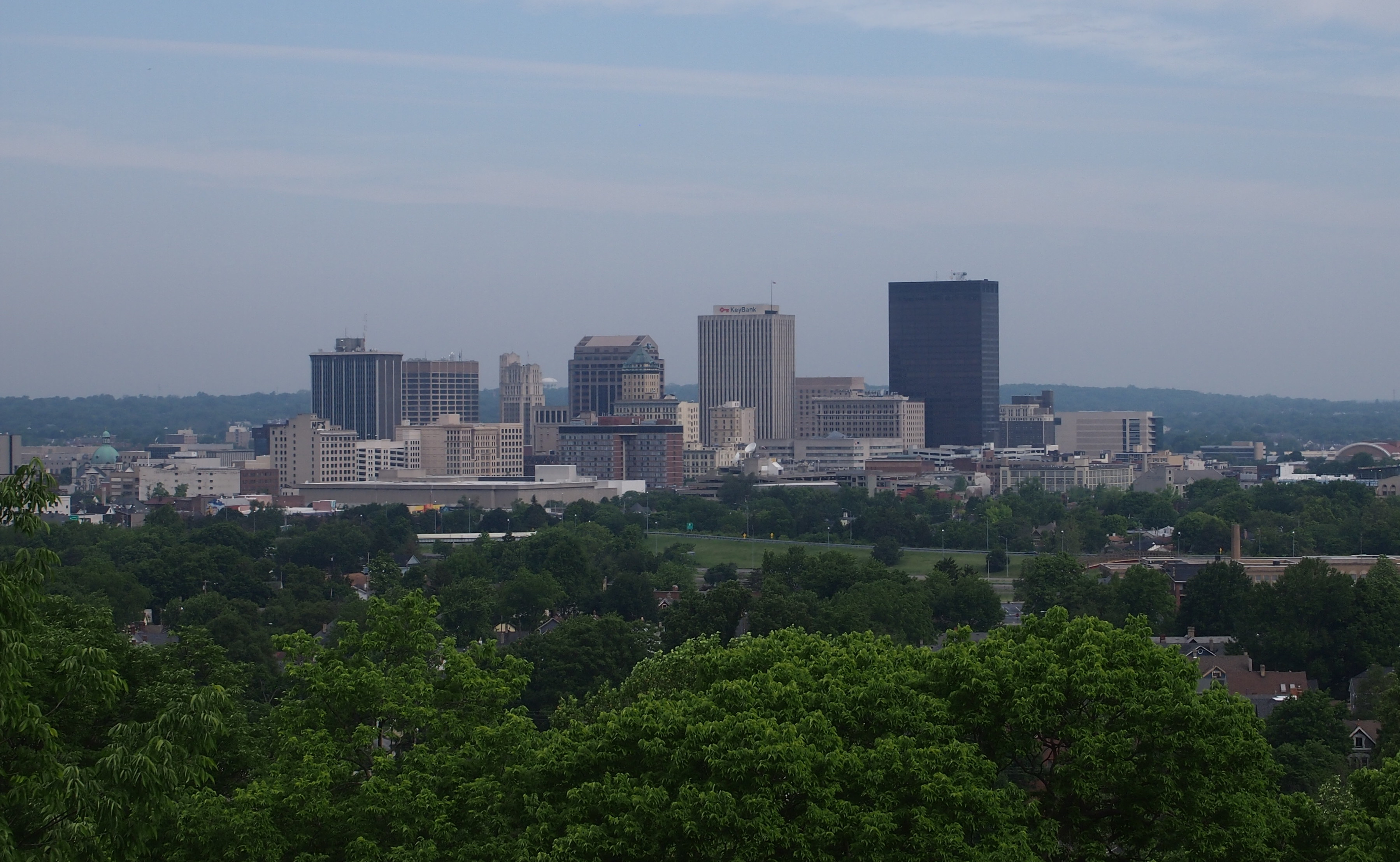 Dayton - View from Woodland Cemetery and Arboretum