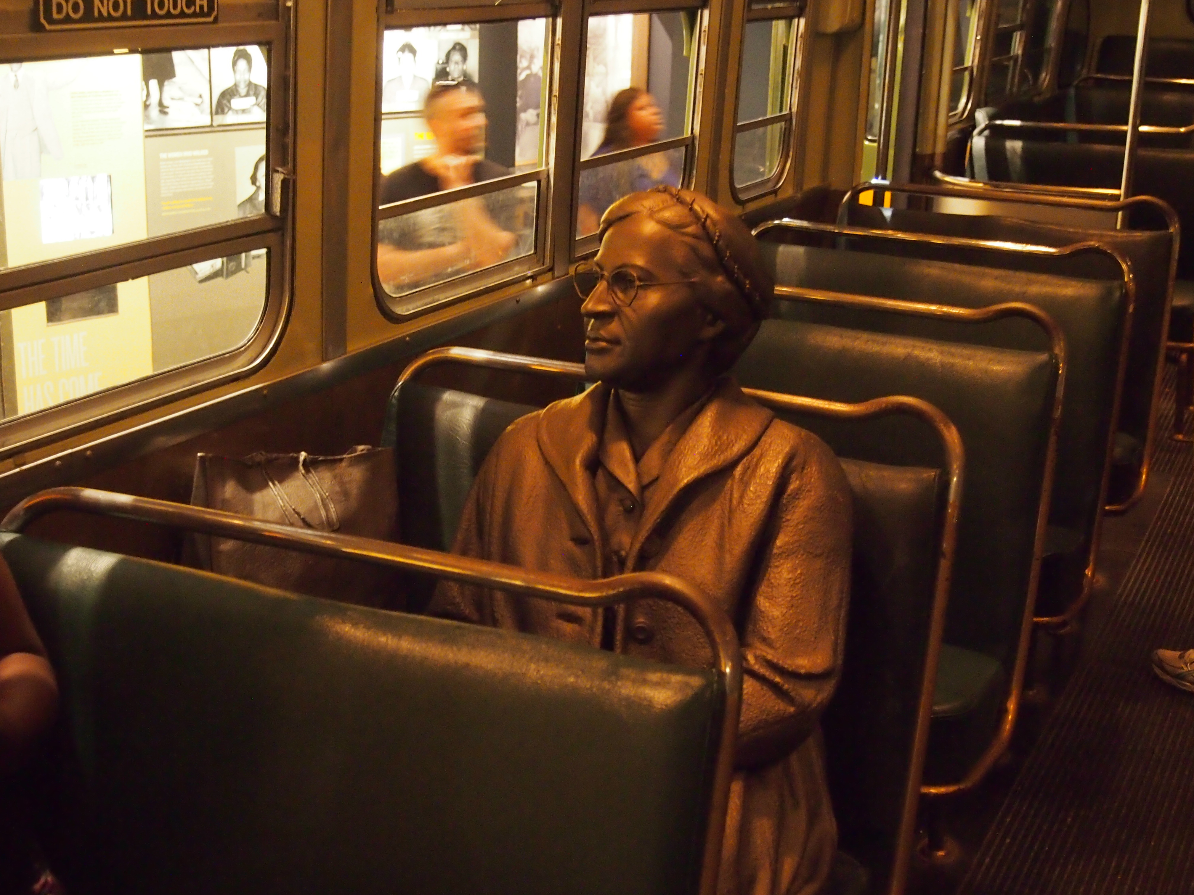 National Civil Rights Museum Montgomerty Bus Boycott - Rosa Parks