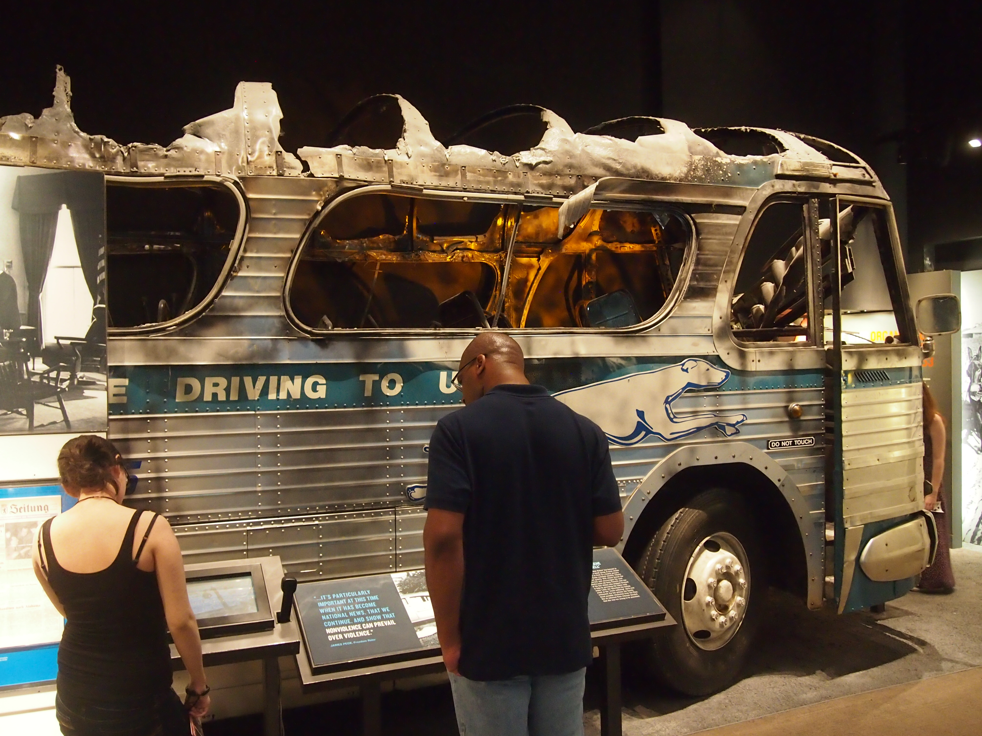 National Civil Rights Museum - Freedom Riders