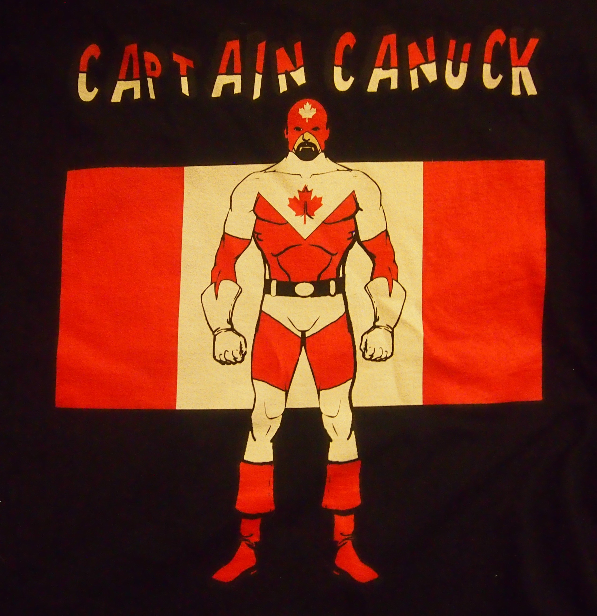 Captain Canuck!