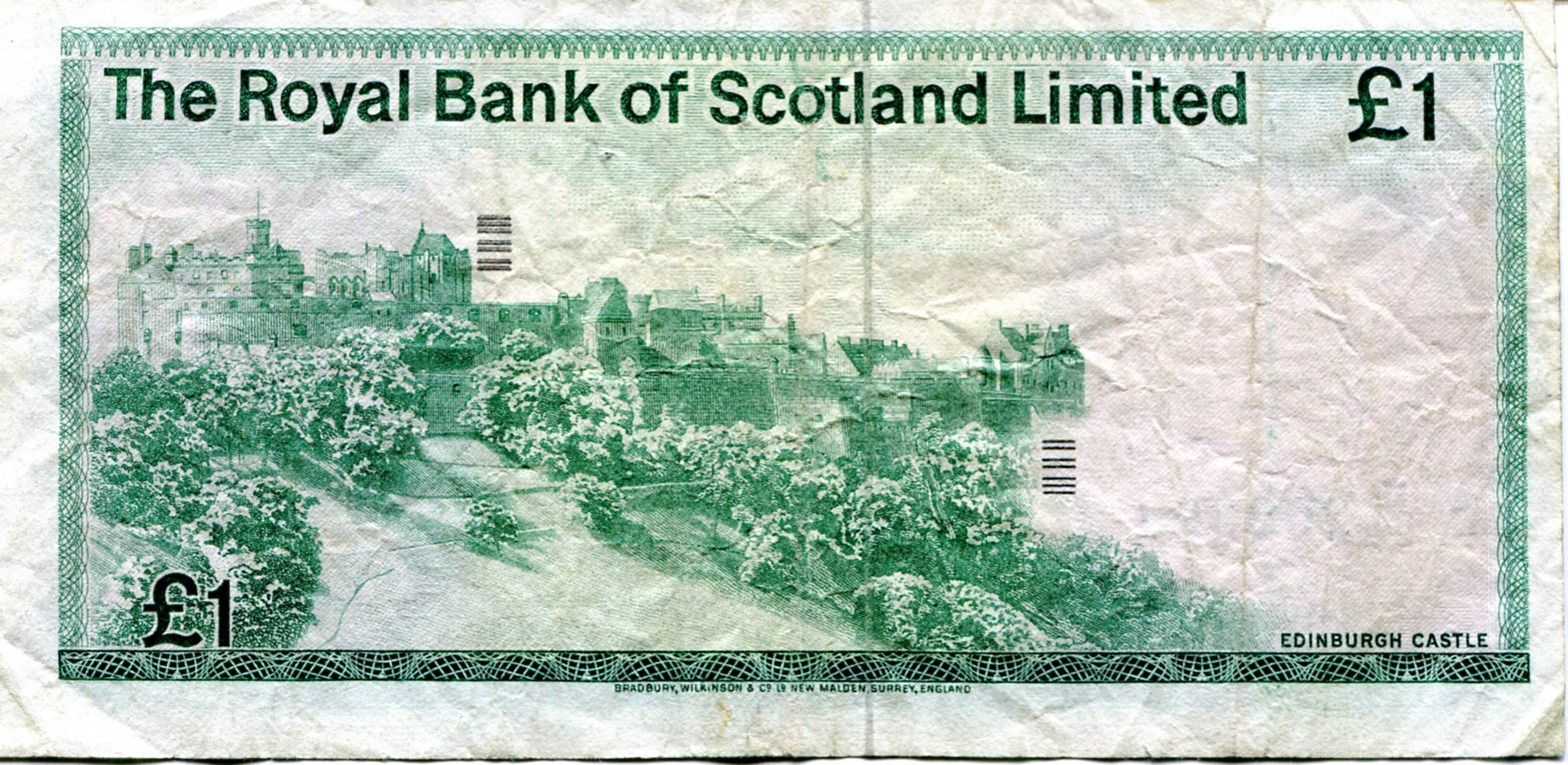 Royal Bank of Scotland One Pound Note 1983