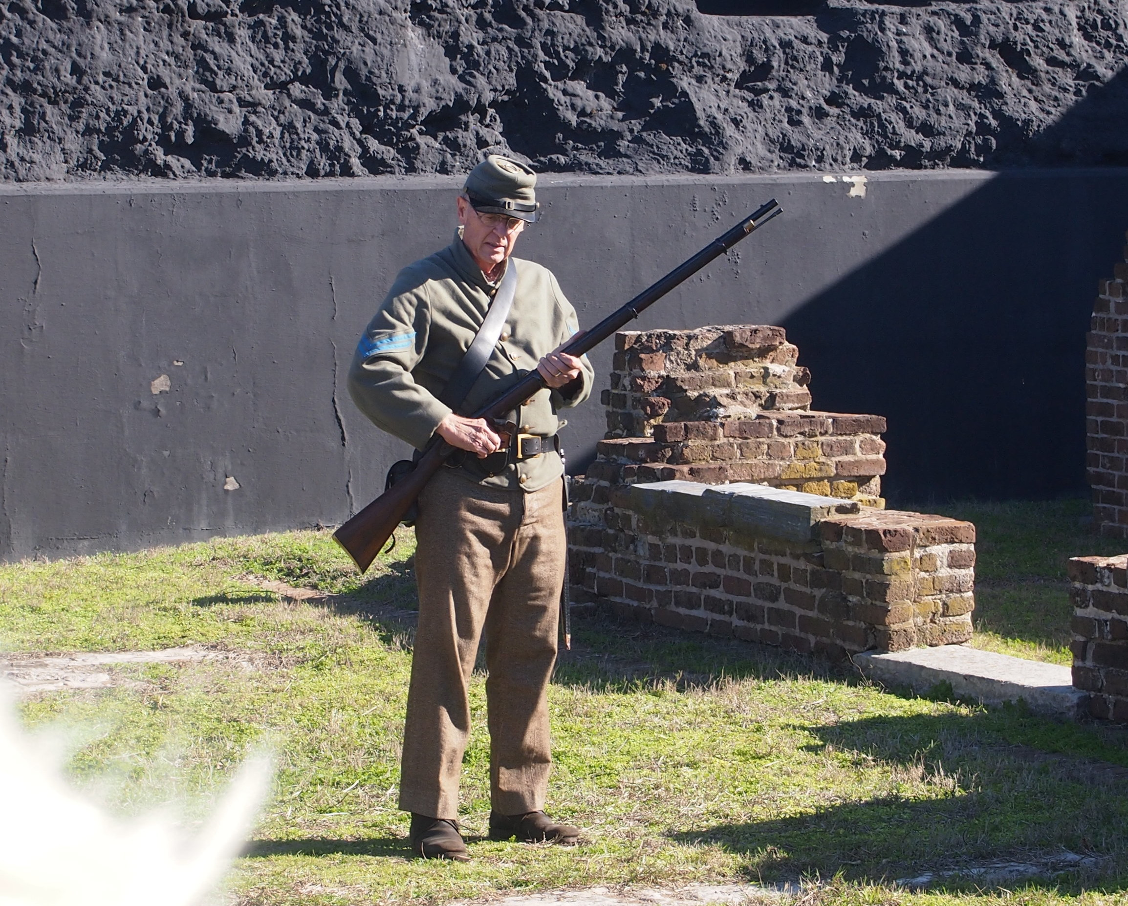 Fort Sumter volunteer rifleman