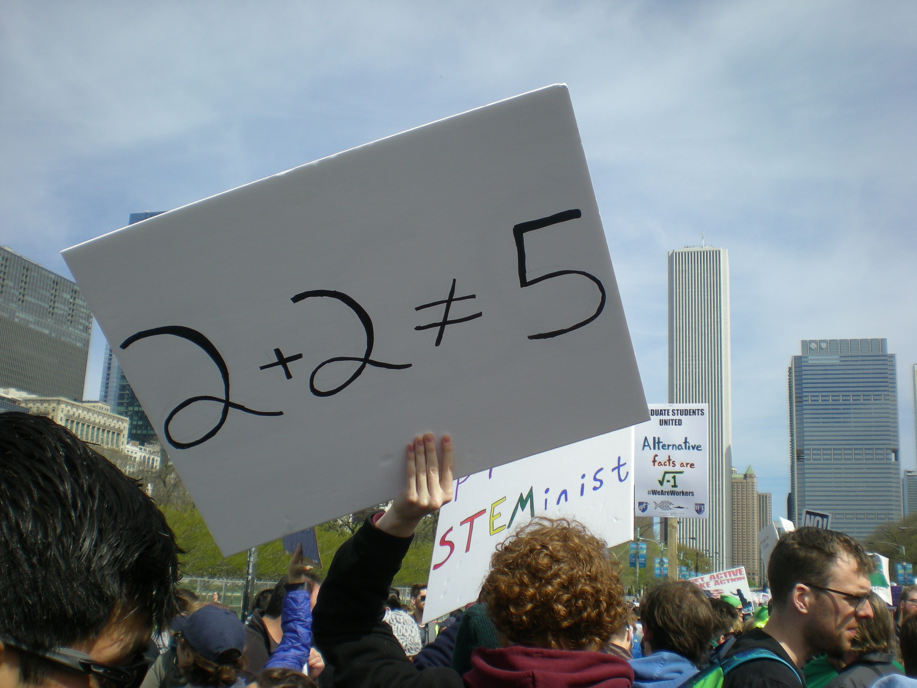 March for Science, Chicago