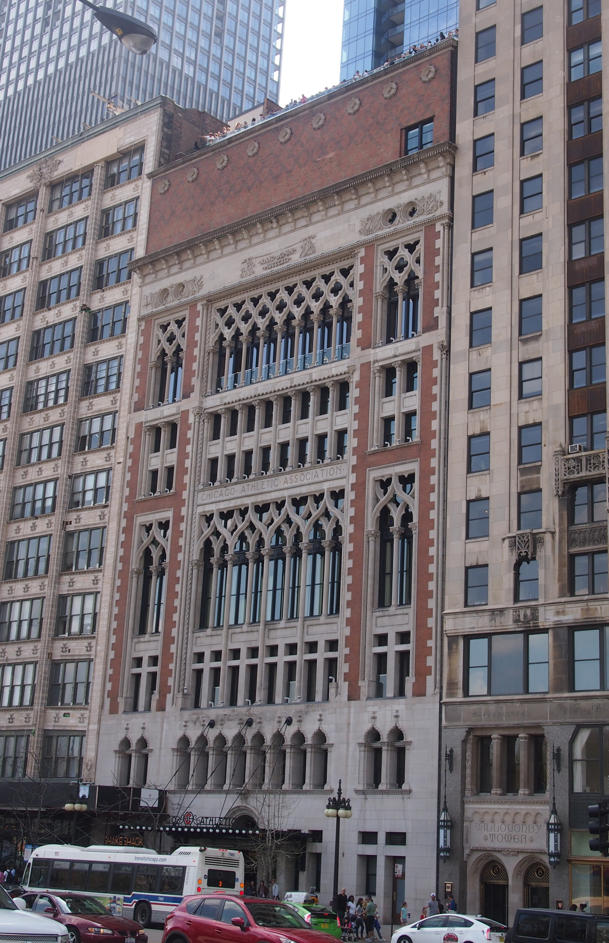 Chicago Athletic Association Hotel 2017