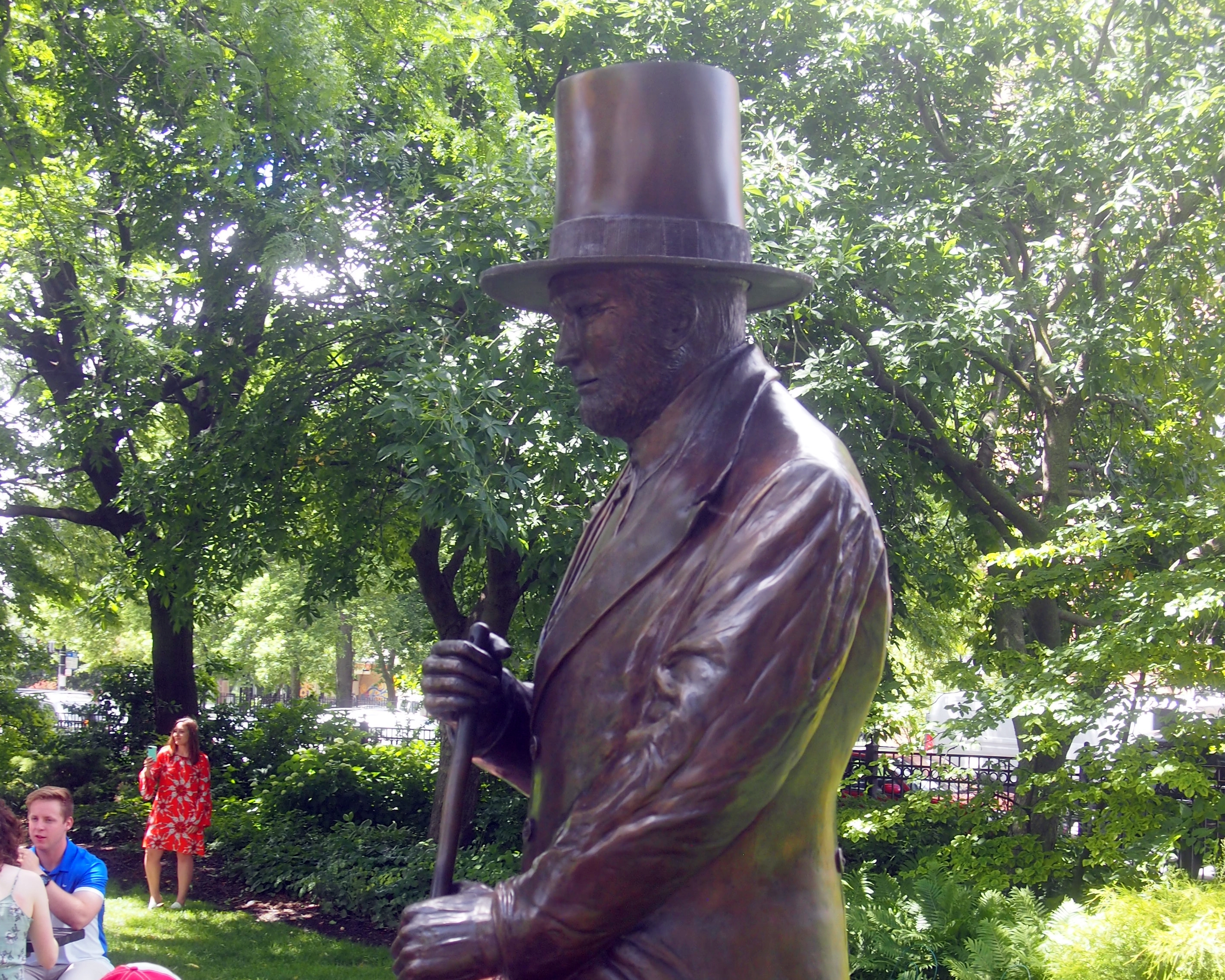 Charles G. Wicker Statue, Chicago
