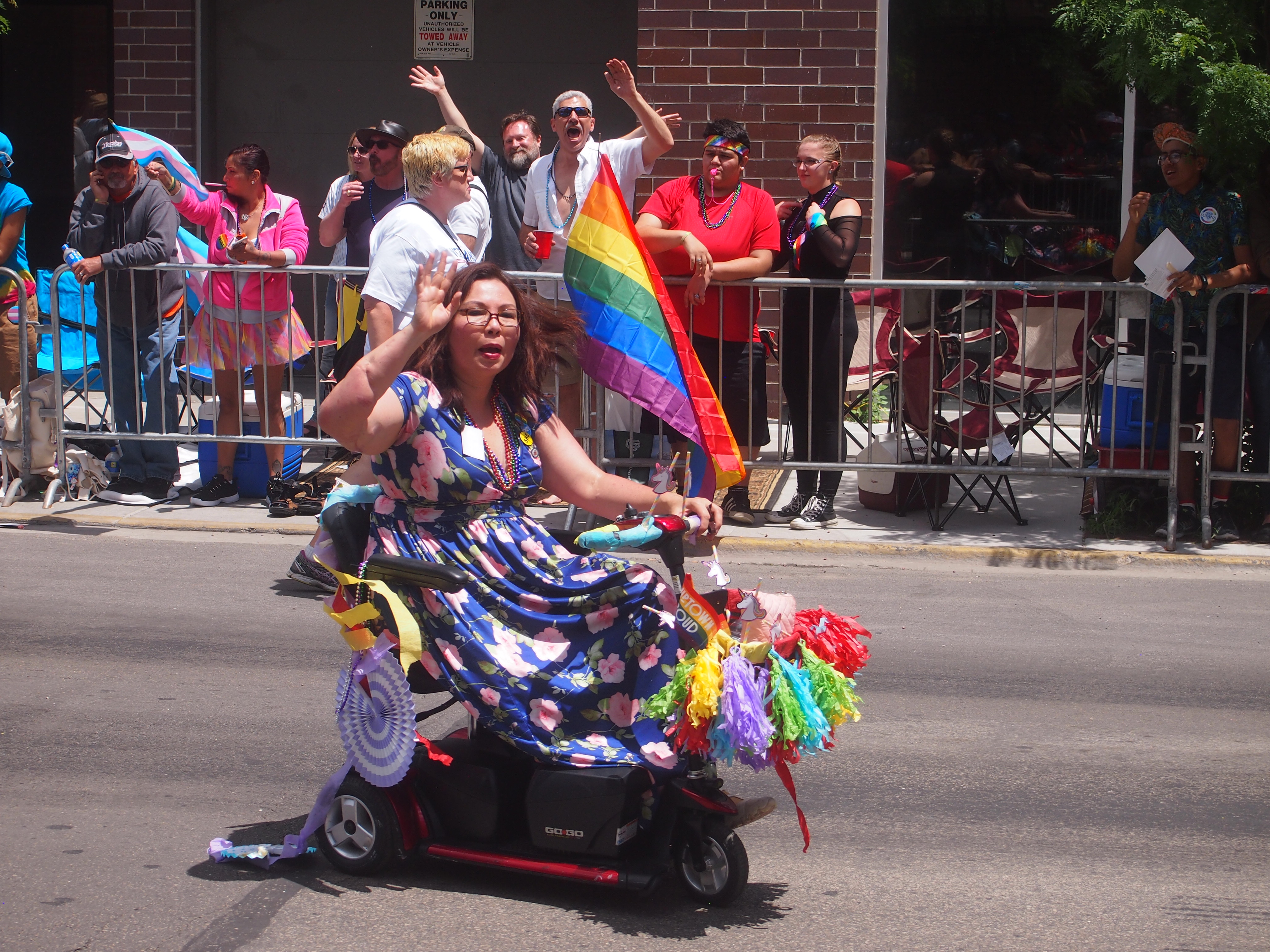 Chicago Pride Parade 2017 - Tammy Duckworth