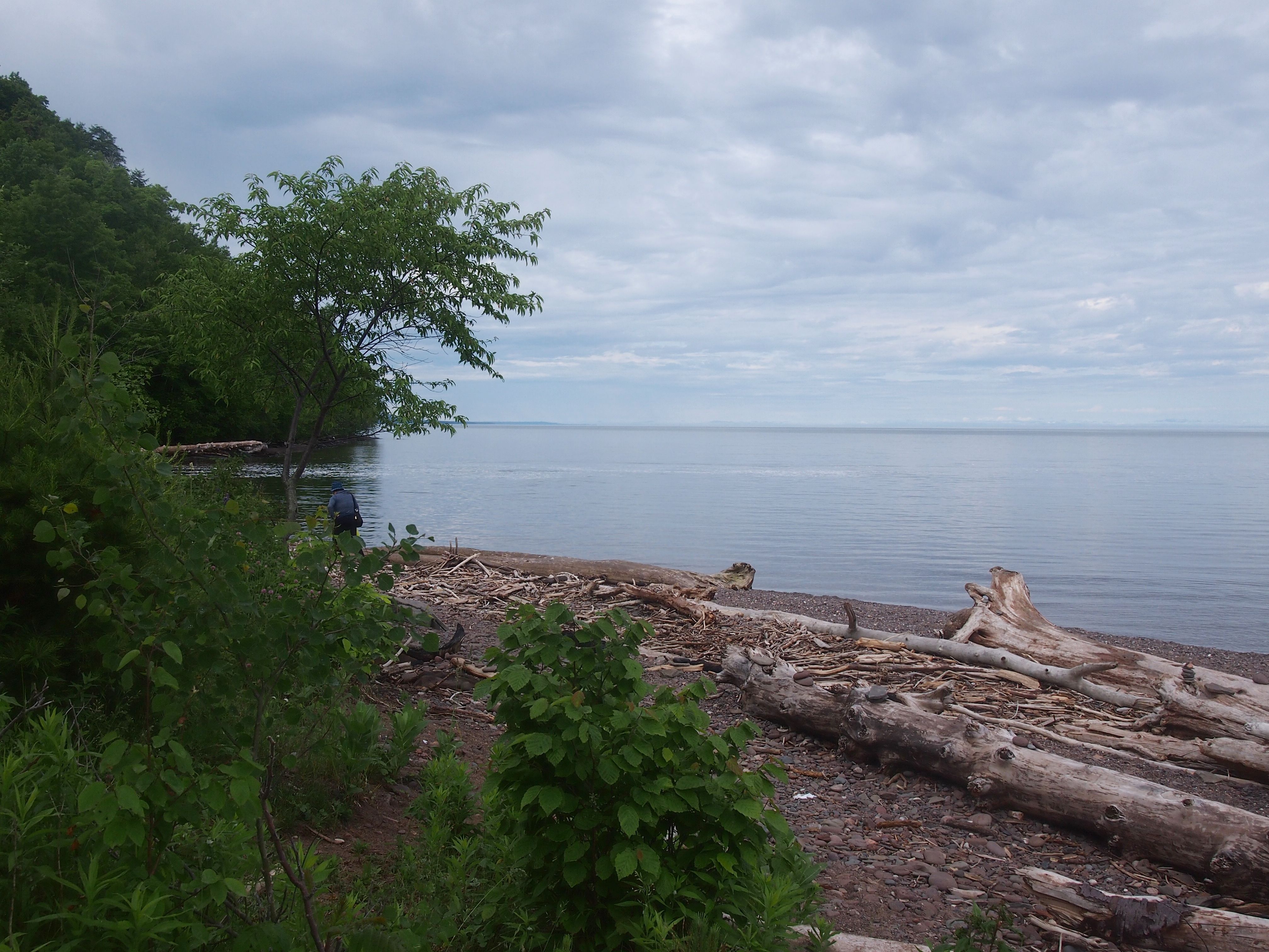 Lake Superior at Presque Isle River