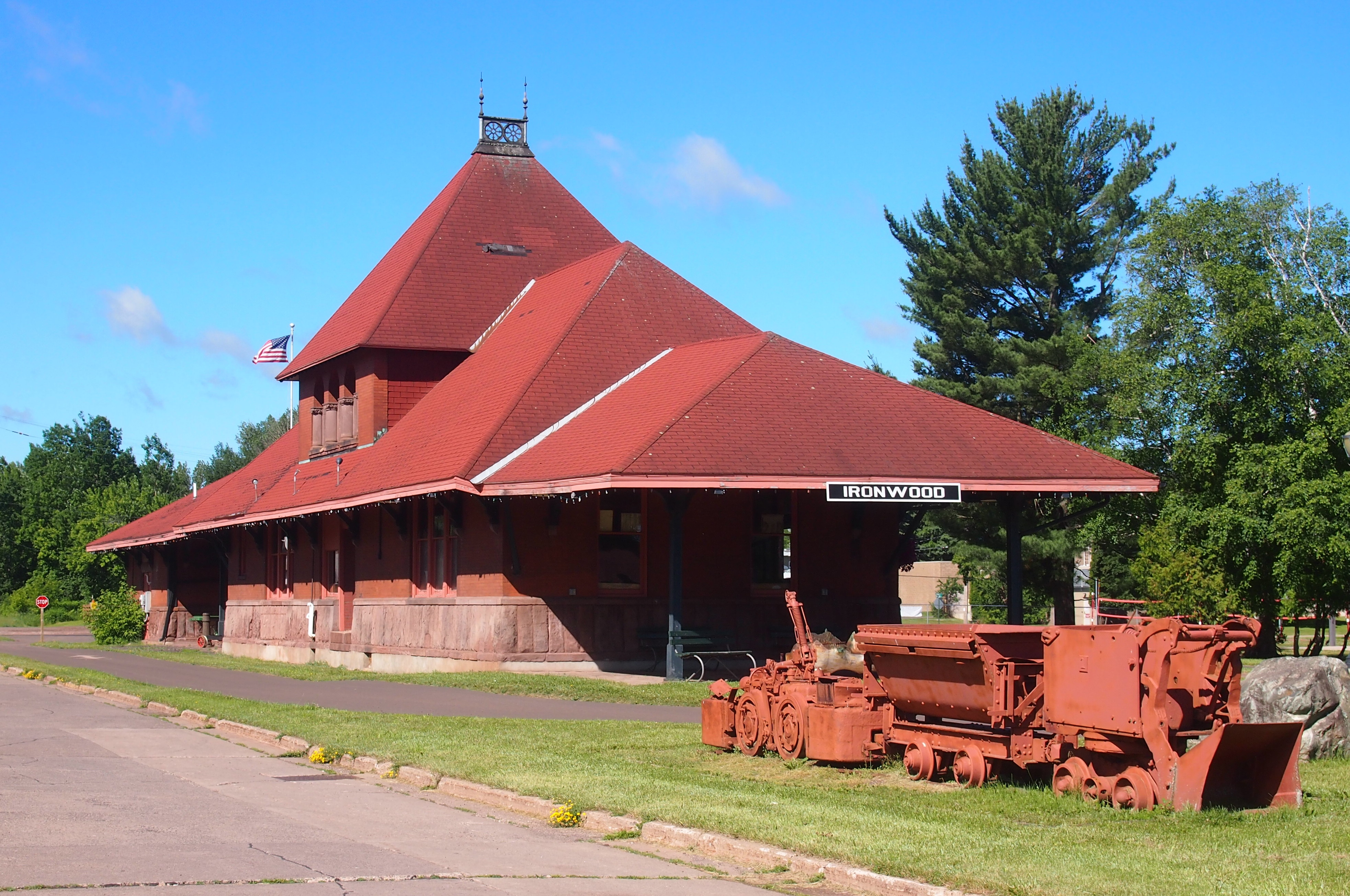 Ironwood, Michigan Depot
