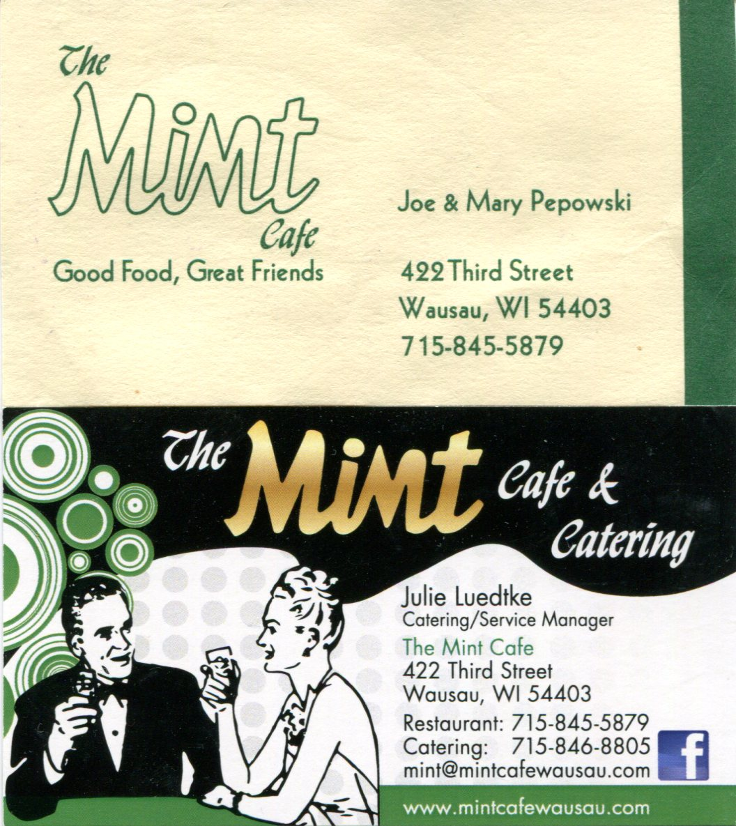 The Mint Cafe, Wausau