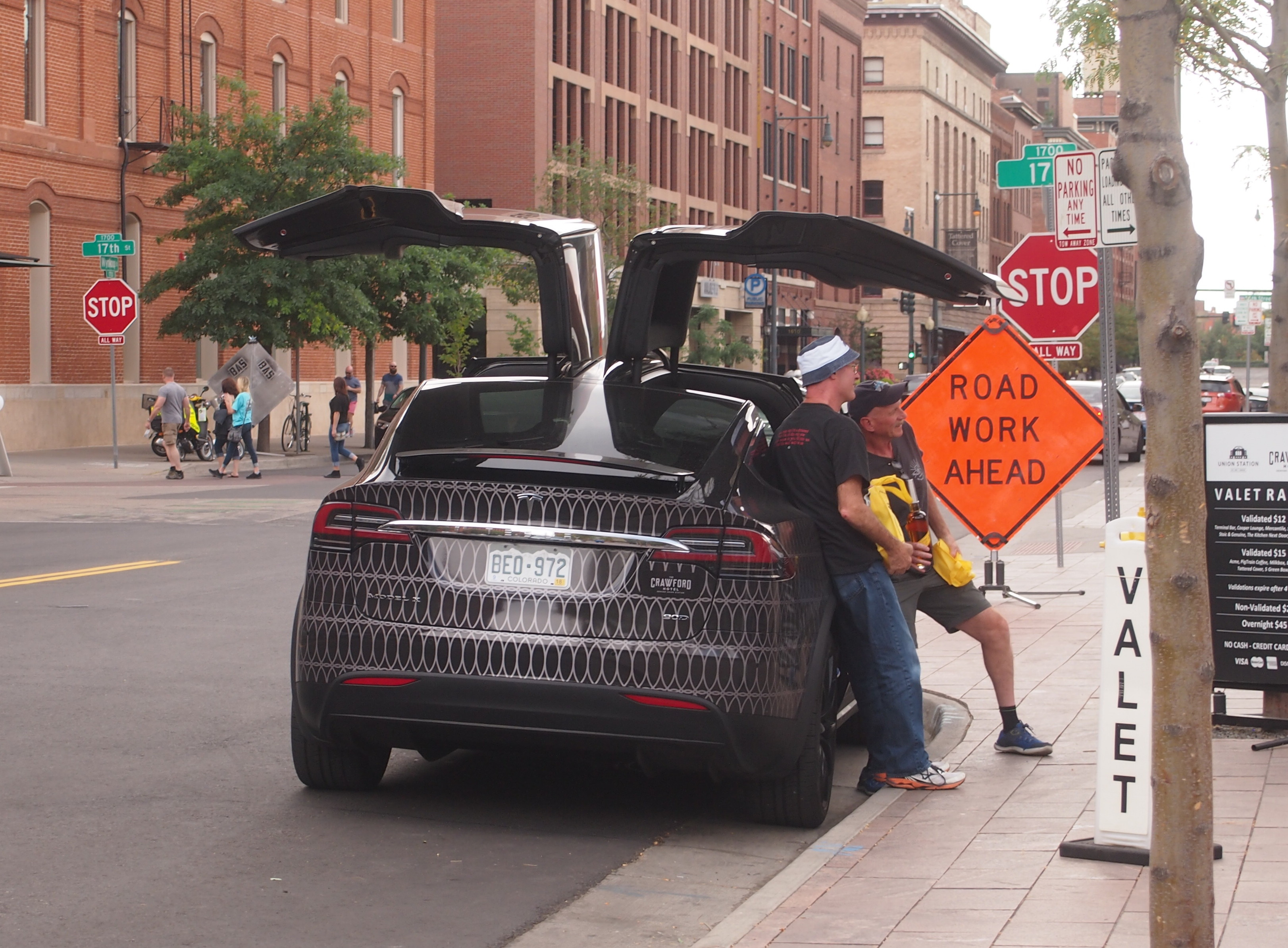 Tesla X, Denver Union Station