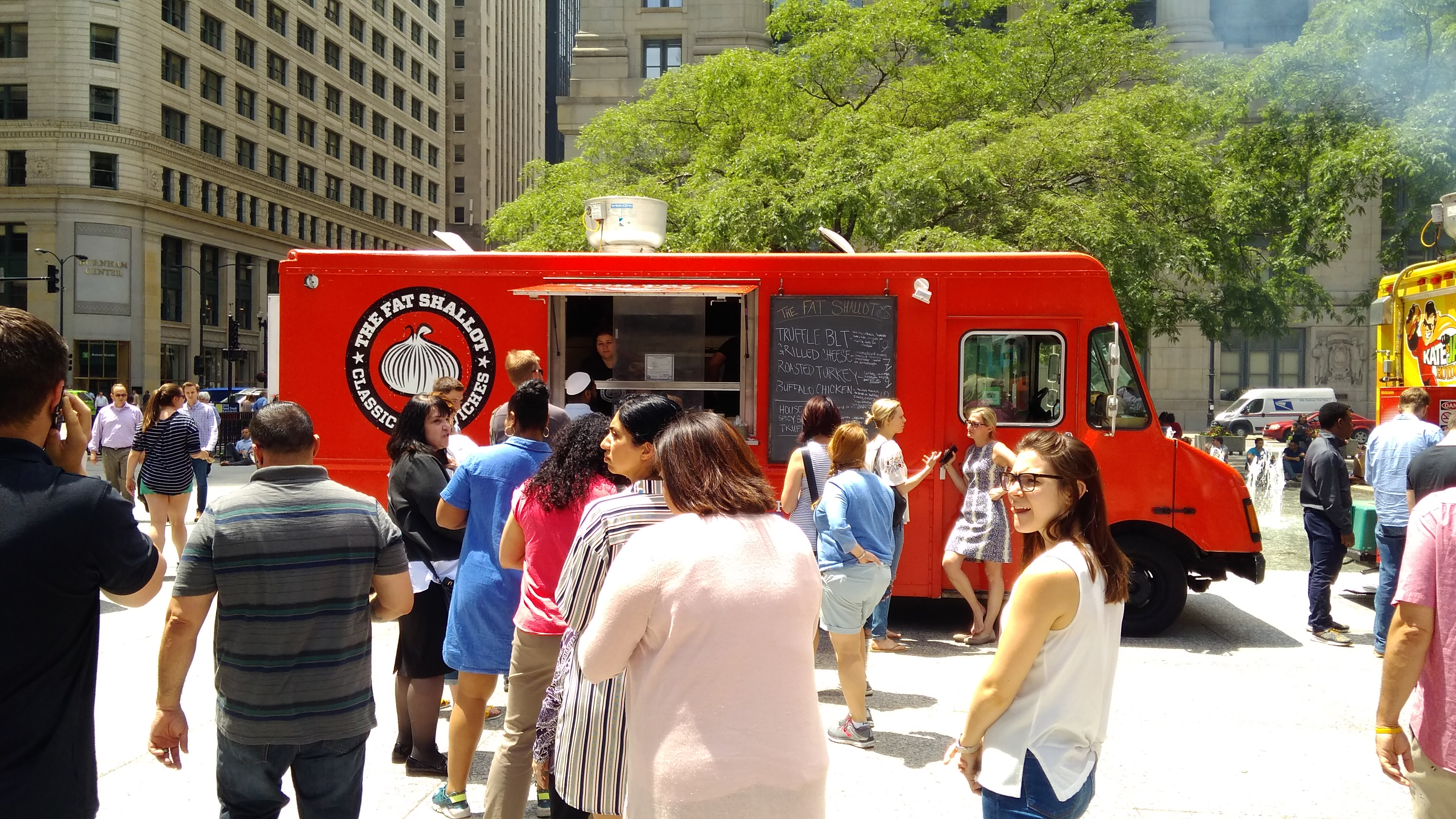 Daley Plaza Food Truck